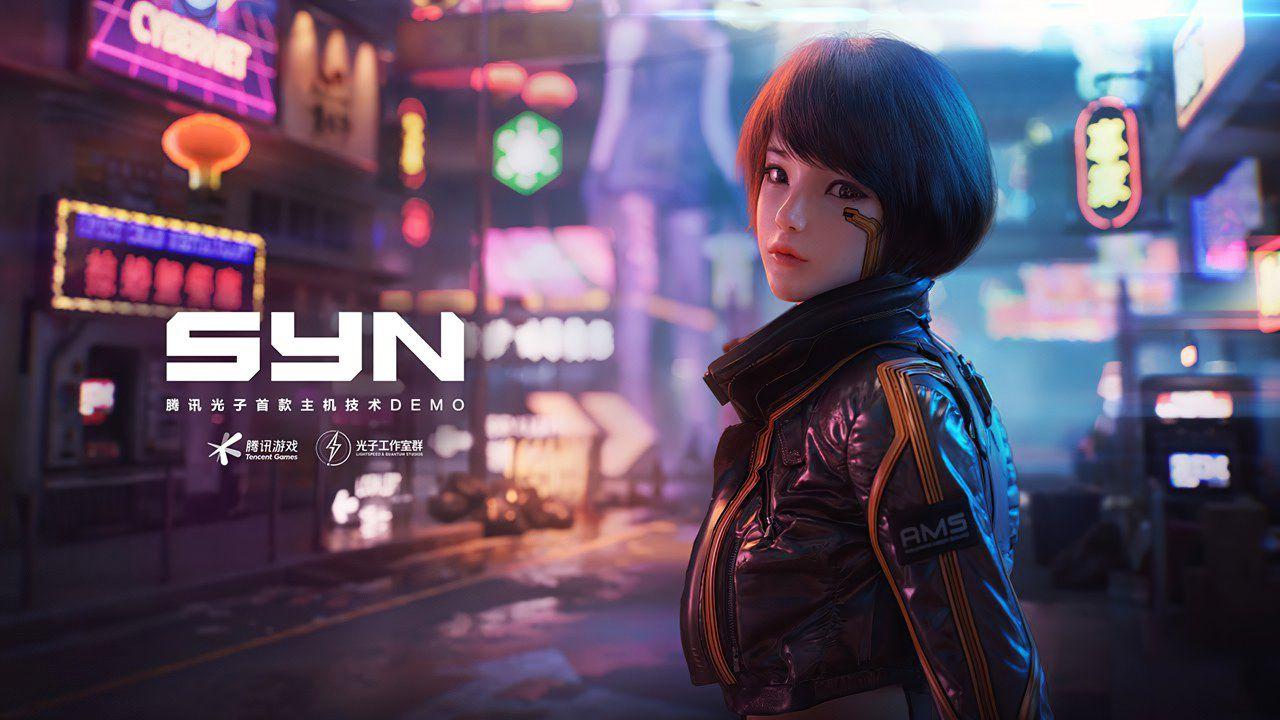 Tencent svela SYN, una tech demo di un action cyberpunk open-world per PC e console