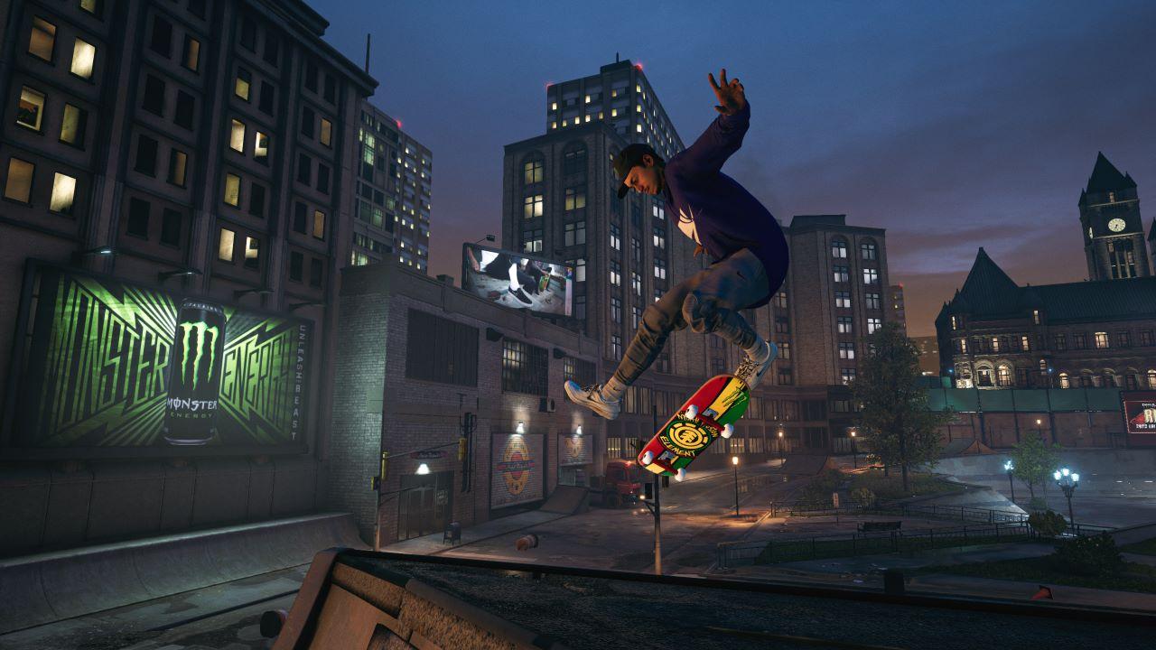 Tony Hawk's Pro Skater 1 + 2 è disponibile da oggi