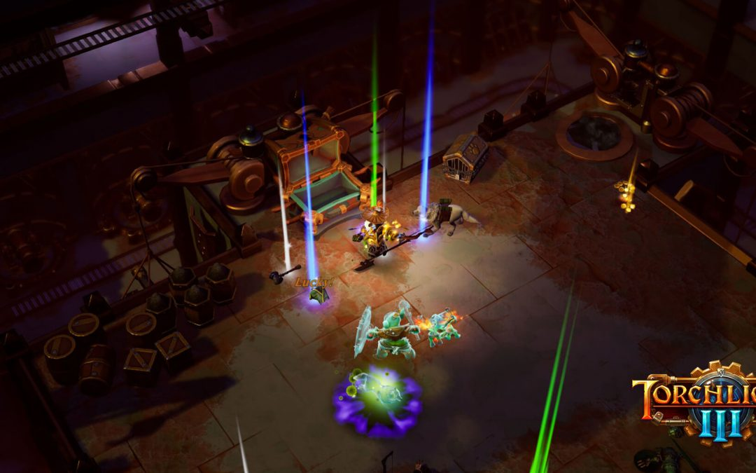 Torchlight 3, disponibile da oggi l'esperienza end game Dun-Djinn di Fazeer Shah