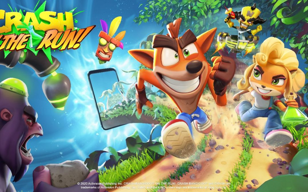 Crash Bandicoot On the Run, un nuovo trailer svela la data di uscita del runner mobile