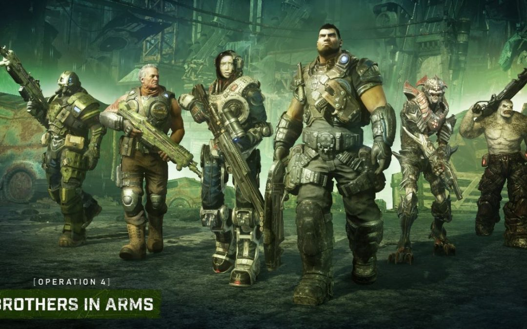 Gears 5, l'update Operation 4 Brothers in Arms è ora disponibile, ecco le novità