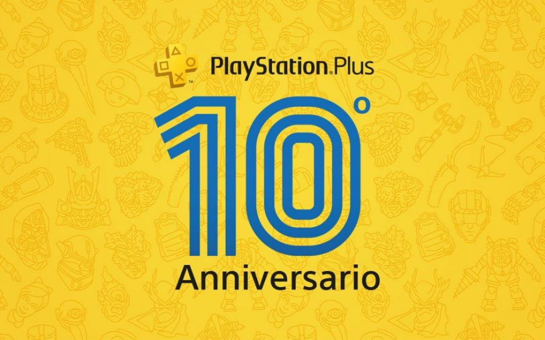 PlayStation Plus, il tema gratis per il decimo anniversario è disponibile in Italia