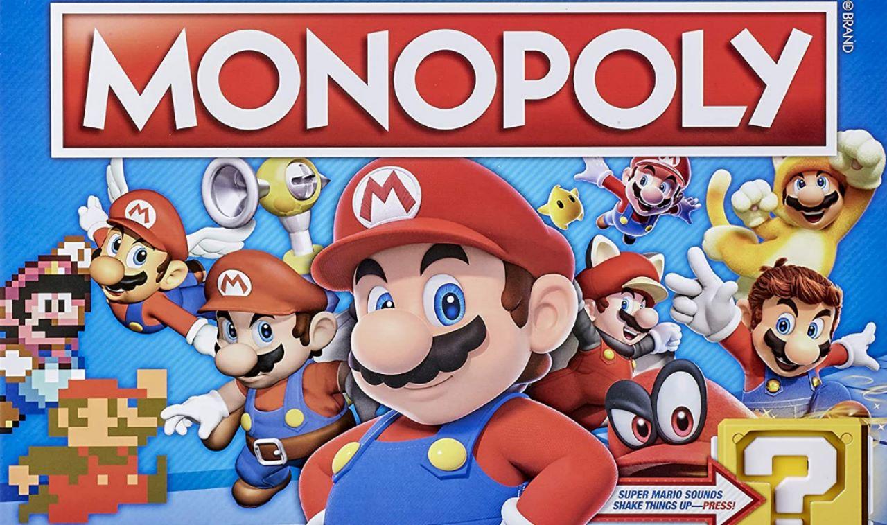 Hasbro celebra il 35esimo anniversario di Super Mario con un Monopoly e Jenga a tema