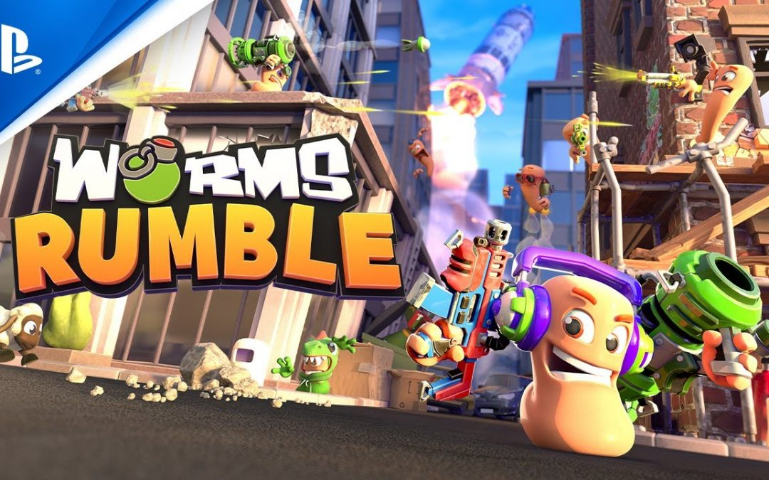 Worms Rumble annunciato per PC, PS4 e PS5, ecco il primo trailer