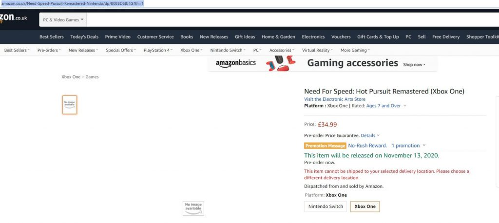 Amazon-NFS-HP-Remastered-pre-order
