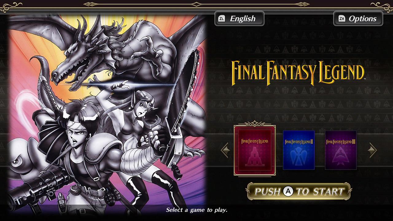 Collection of SaGa Final Fantasy Legend è disponibile da oggi su Nintendo Switch, trailer di lancio