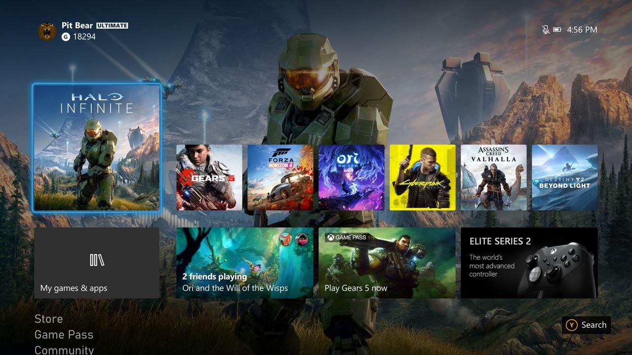 Xbox Series X, come cambiare il tema della dashboard