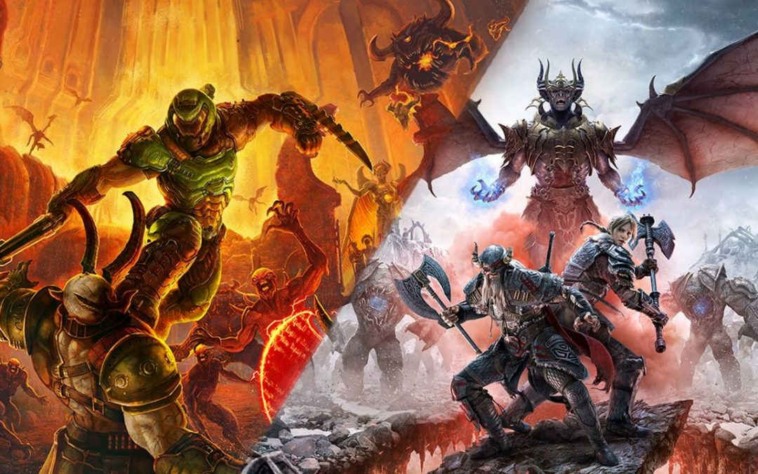 Doom Eternal e The Elder Scrolls Online usciranno anche su PS5 e Xbox Series X