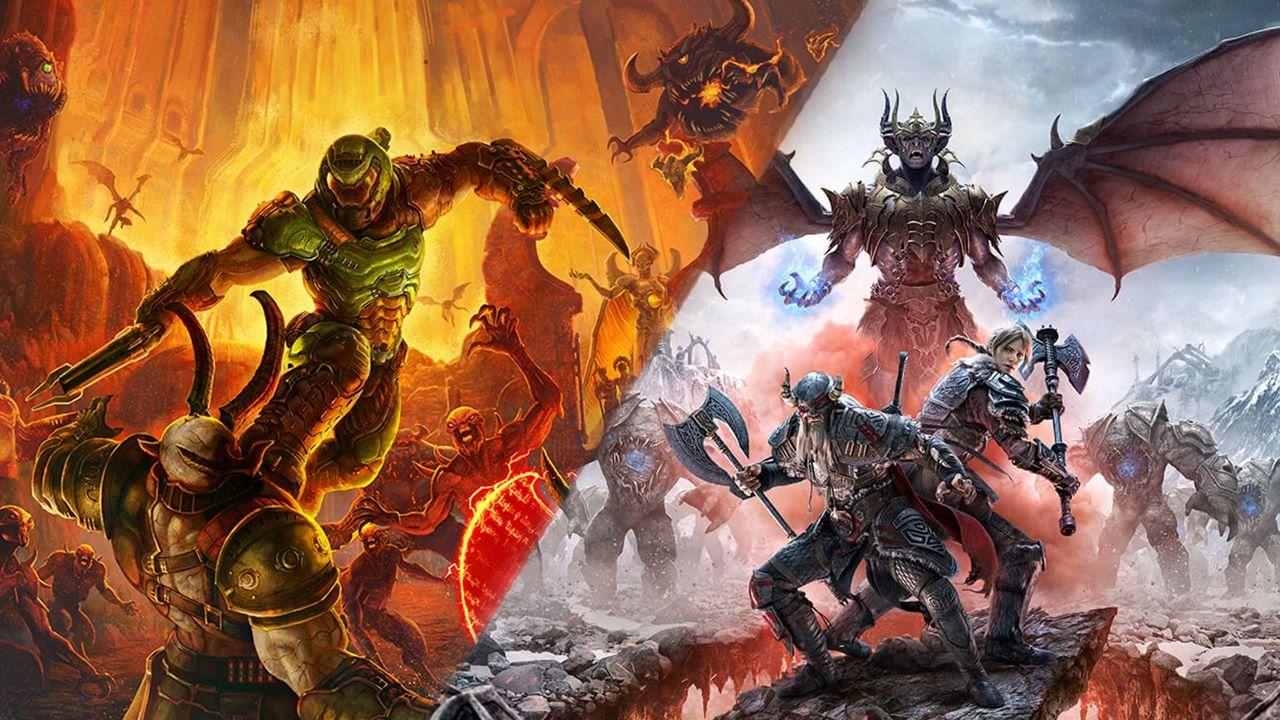 Doom Eternal e The Elder Scrolls Online per PS5 e Xbox Series X/S: dettagli su upgrade gratis