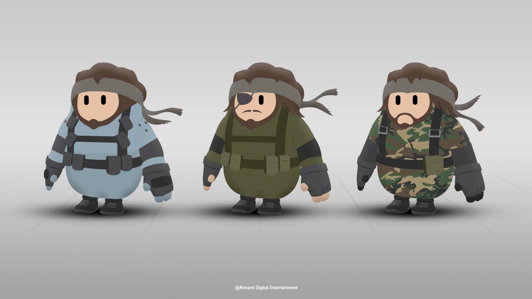 Fall Guys, Konami vuole le skin di Metal Gear Solid