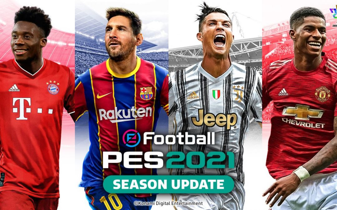 eFootball PES 2021, disponibile ora il Data Pack 3.0