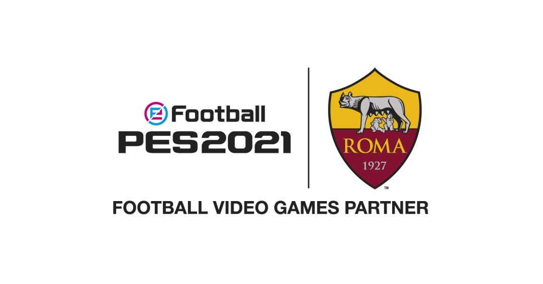 eFootball PES 2021 avrà in esclusiva l'AS Roma, lo annuncia Konami