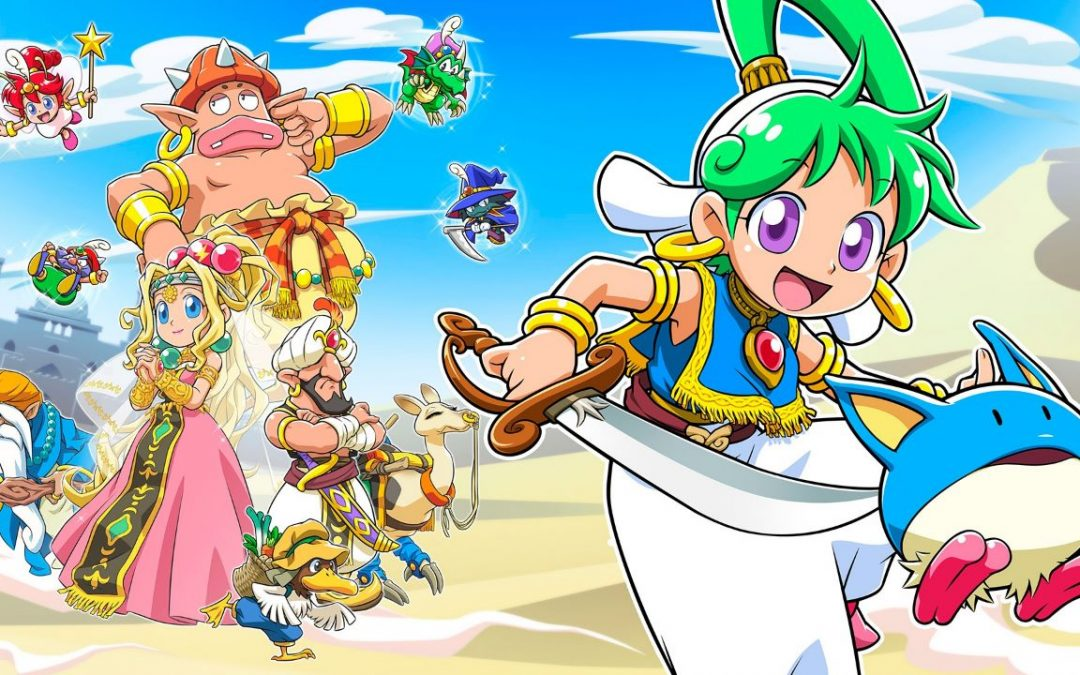 Wonder Boy Asha in Monster World si mostra nel primo trailer con tanto gameplay