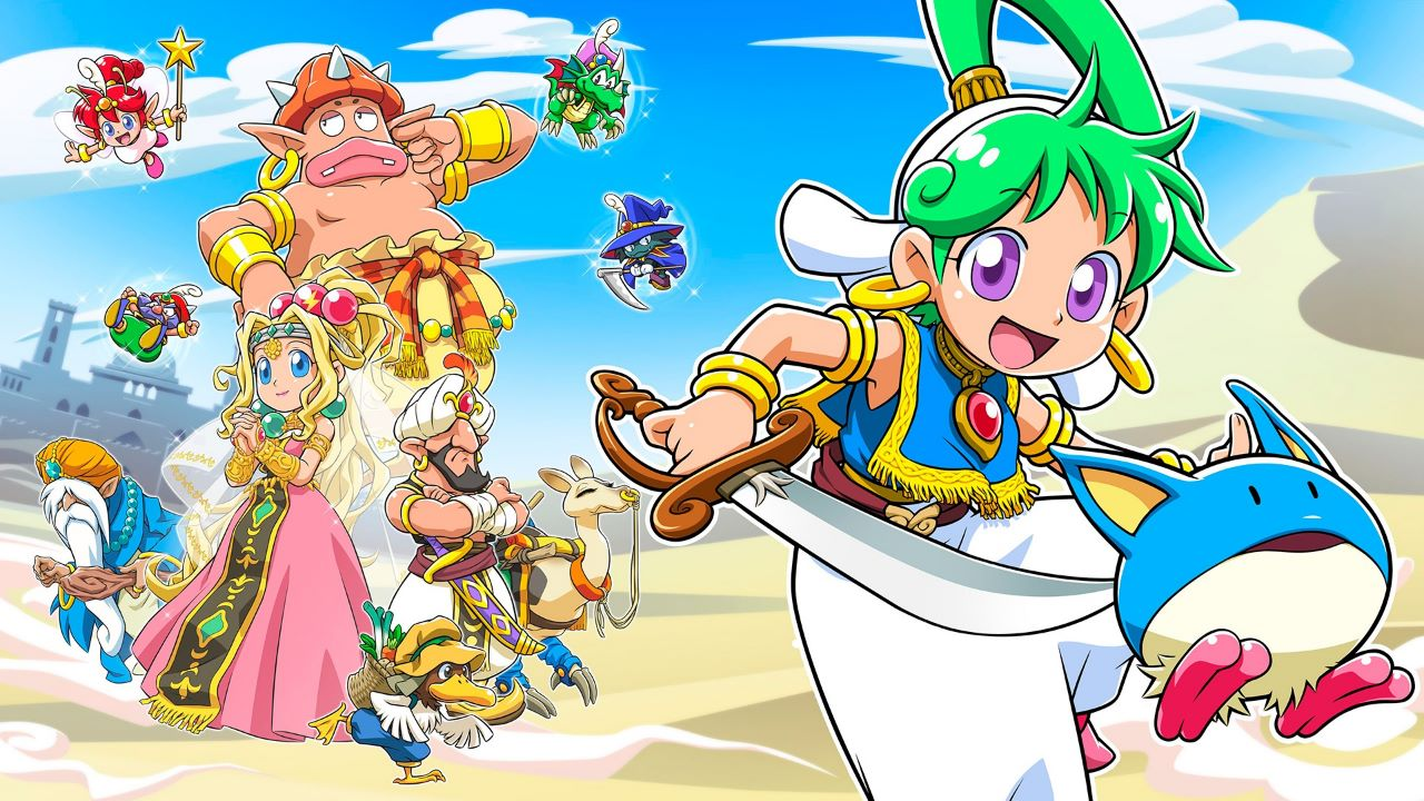 Wonder Boy Asha in Monster World, svelata la data di uscita per l'Occidente