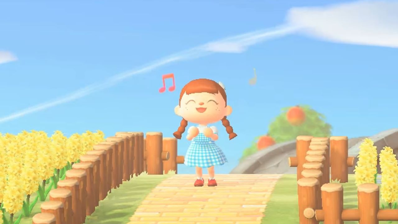 Animal Crossing New Horizons incontra Il Mago di Oz in un nuovo video crossover