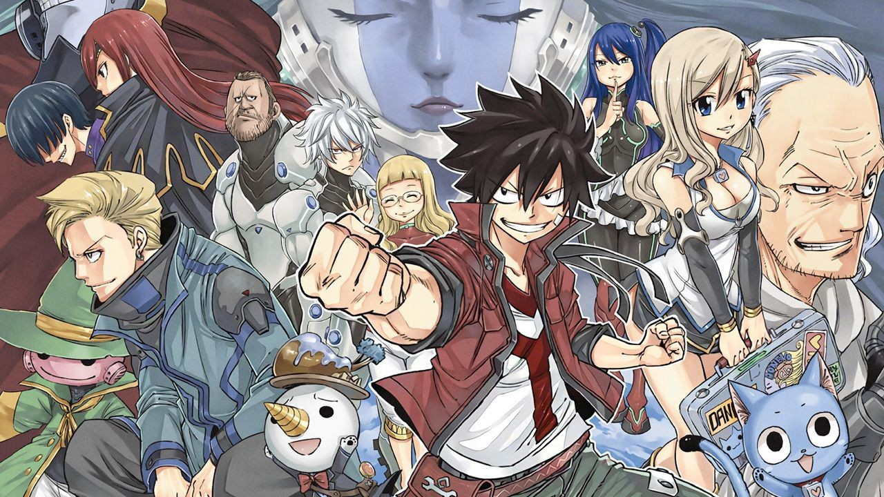 Edens Zero, Konami annuncia un gioco del manga del creatore di Fairy Tail, dettagli al Tokyo Game Show 2020