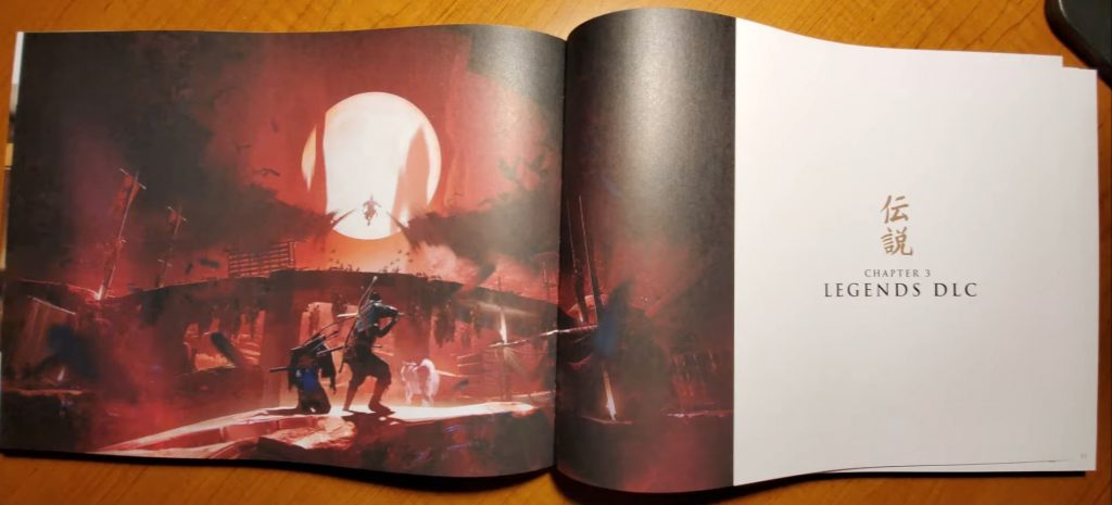 ghost-of-tsushima-legends-level-1-artbook
