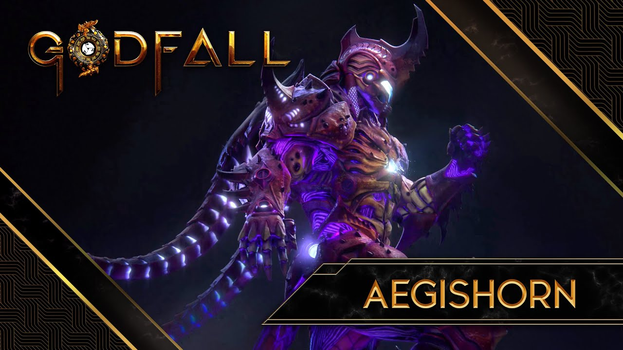 Godfall, la Valorplate Aegishorn si presenta nel nuovo teaser trailer