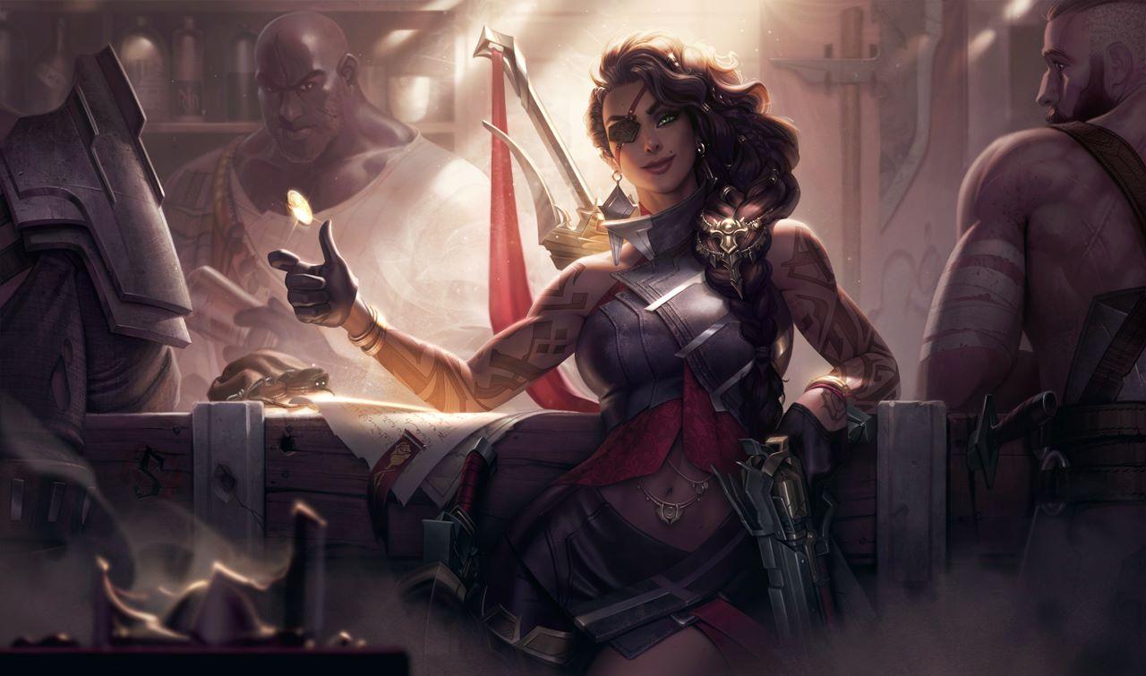 League of Legends, Samira è il nuovo campione in arrivo con la patch 10.19, ecco le sue abilità