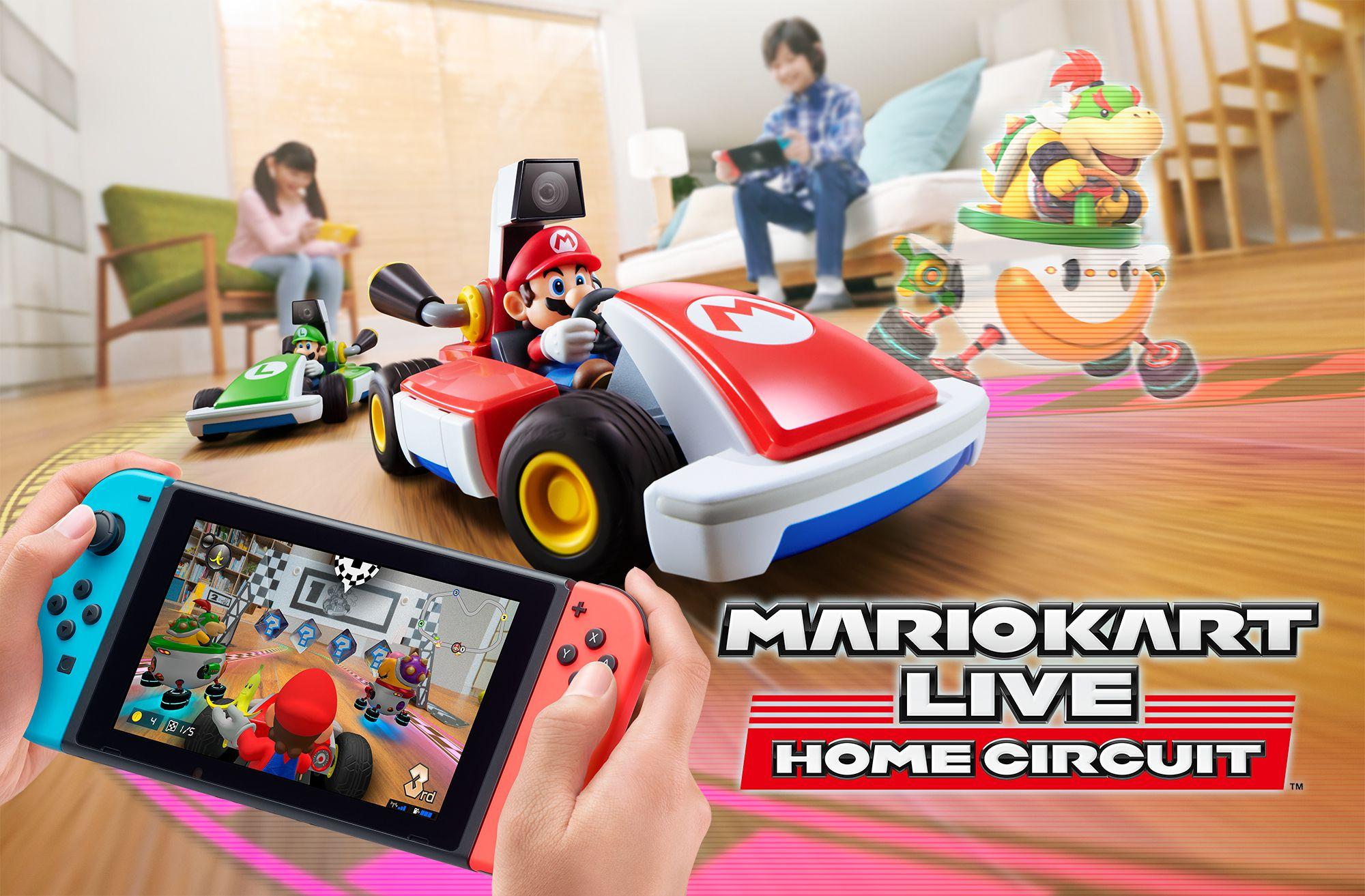 Mario Kart Live Home Circuit arriva ad ottobre, è un racer per Switch con dei kart telecomandati