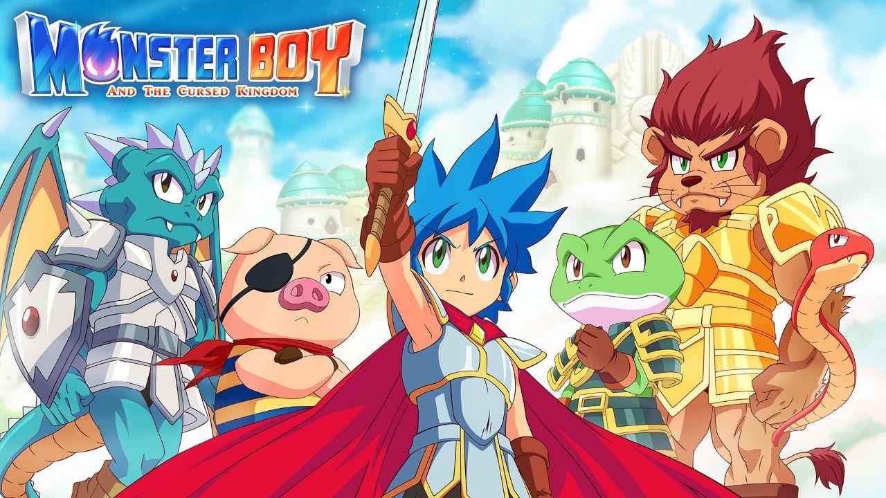Monster Boy and the Cursed Kingdom arriverà anche su PS5 e Xbox Series, upgrade gratis per chi ha il gioco base