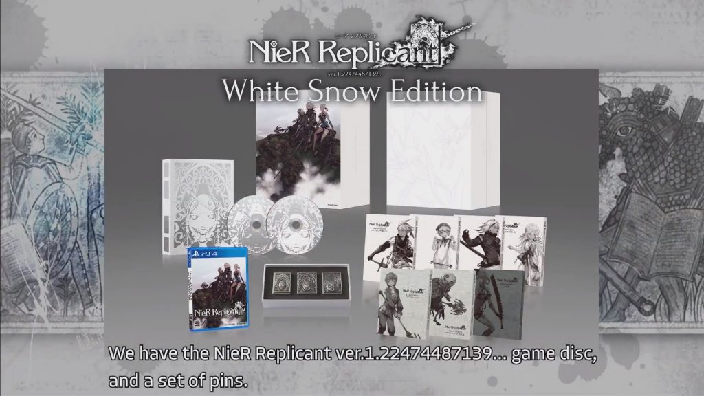 nier-replicant-white-snow-edition