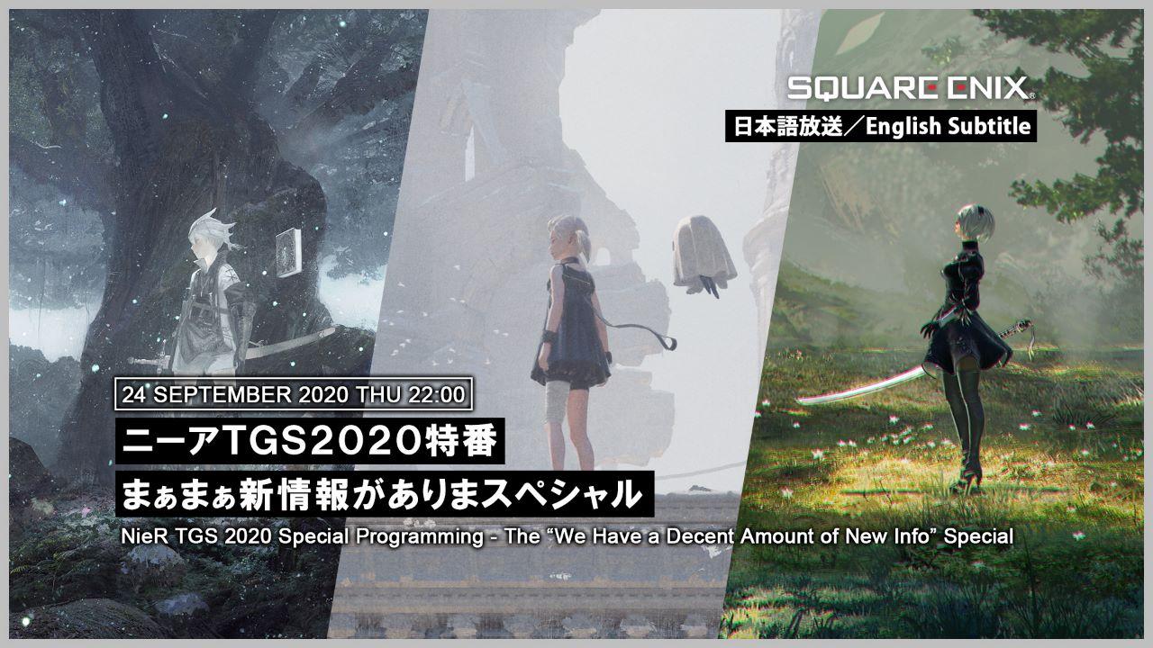 NieR, la serie sarà al Tokyo Game Show, in arrivo notizie su NieR Replicant, NieR Reincarnation e NieR Automata