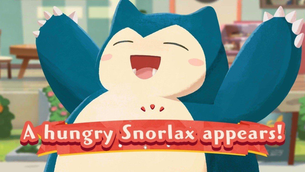 Pokémon Cafe Mix, arrivano una nuova modalità per i team ed un affamato Snorlax