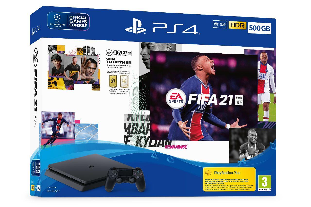 PS4, PS4 Pro e DualShock 4, in arrivo tanti bundle con FIFA 21
