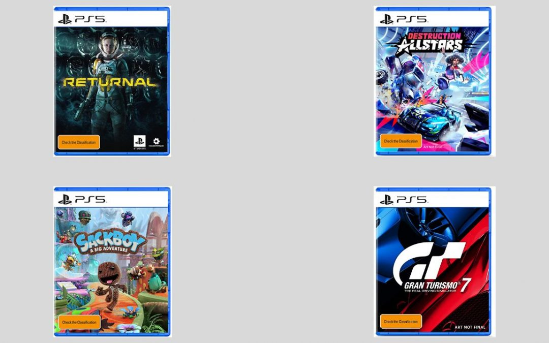 PS5, spuntano in rete le copertine di Sackboy A Big Adventure, Returnal, Destruction All-Stars e Gran Turismo 7 (non finale)
