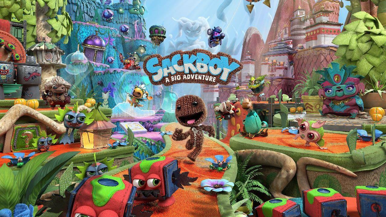 Sackboy A Big Adventure, il multiplayer online arriva entro la fine dell'anno: co-op locale disponibile da subito