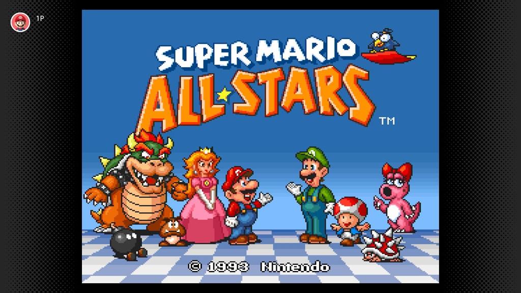 Super Mario All-Stars arriva oggi su Nintendo Switch Online