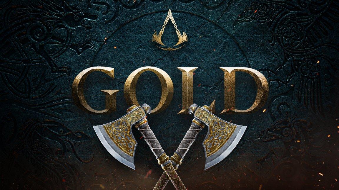 Assassin's Creed Valhalla è entrato in fase gold, annuncia Ubisoft