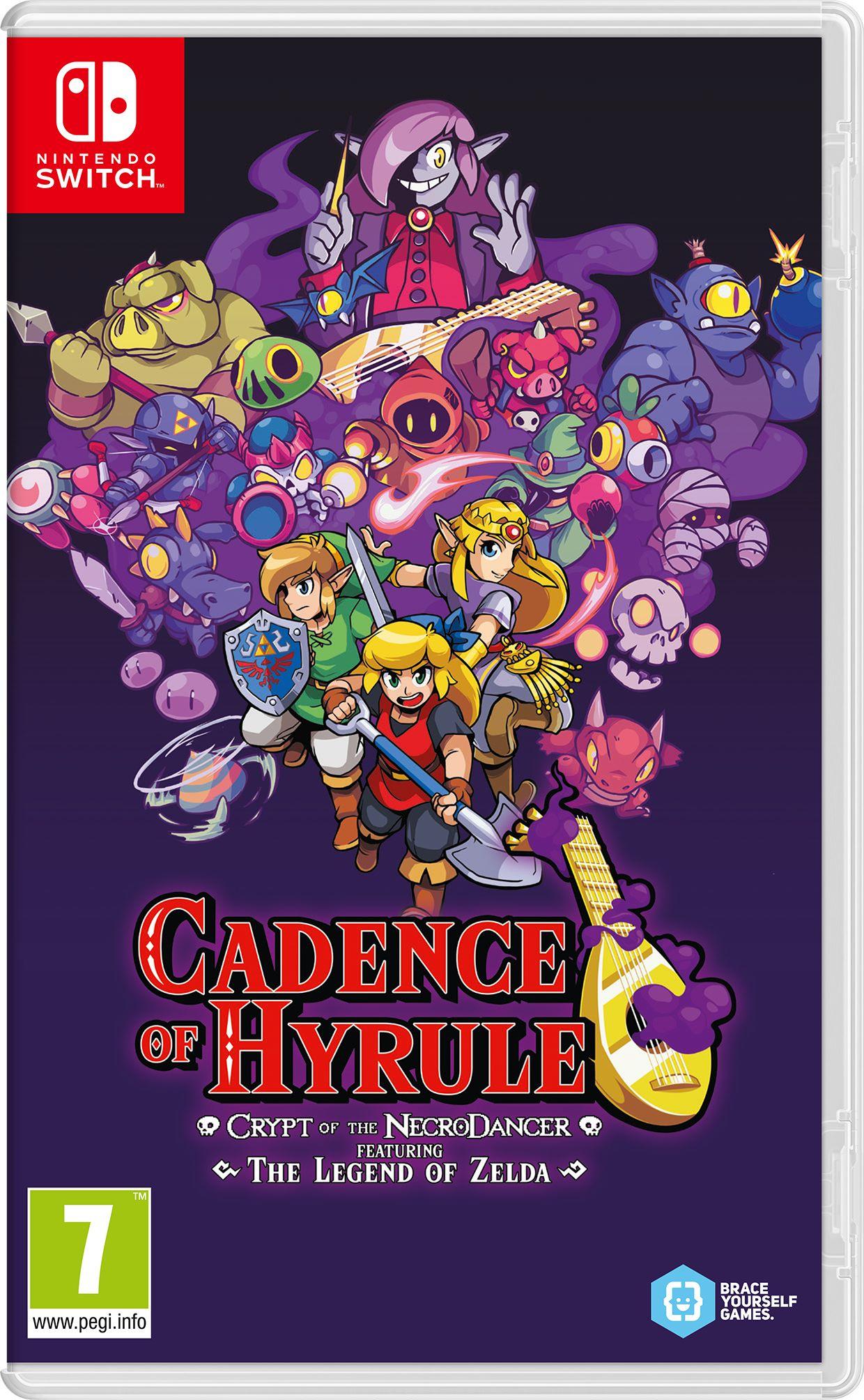 Cadence of Hyrule - Crypt of the NecroDancer Featuring The Legend of Zelda  è ora disponibile in edizione fisica - GamingTalker