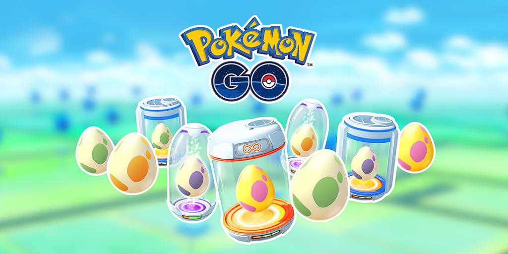 Pokémon GO, Niantic svela alcuni cambiamenti apportati alle Uova; annunciate le Missioni di Mappatura AR