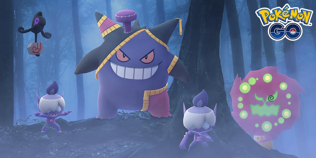 Pokémon GO, annunciato ufficialmente l'evento di Halloween 2020, tutti i dettagli, bonus e sorprese