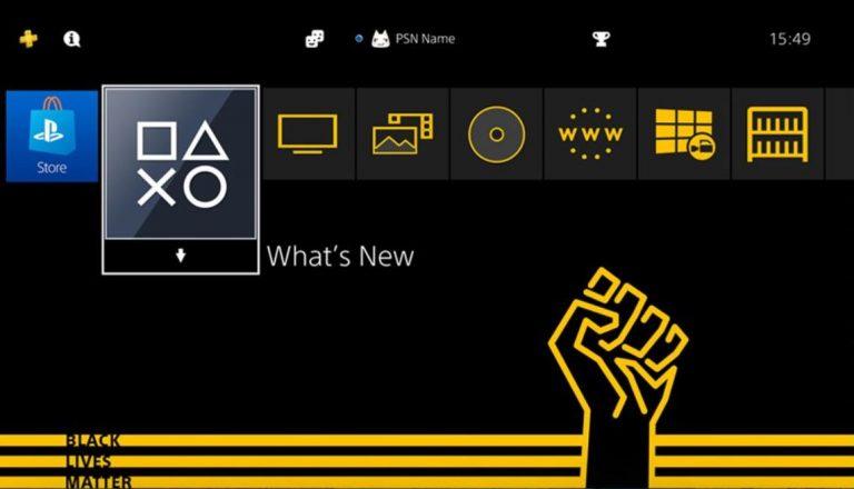 PS4, Sony regala un tema gratis di Black Lives Matter, link al download