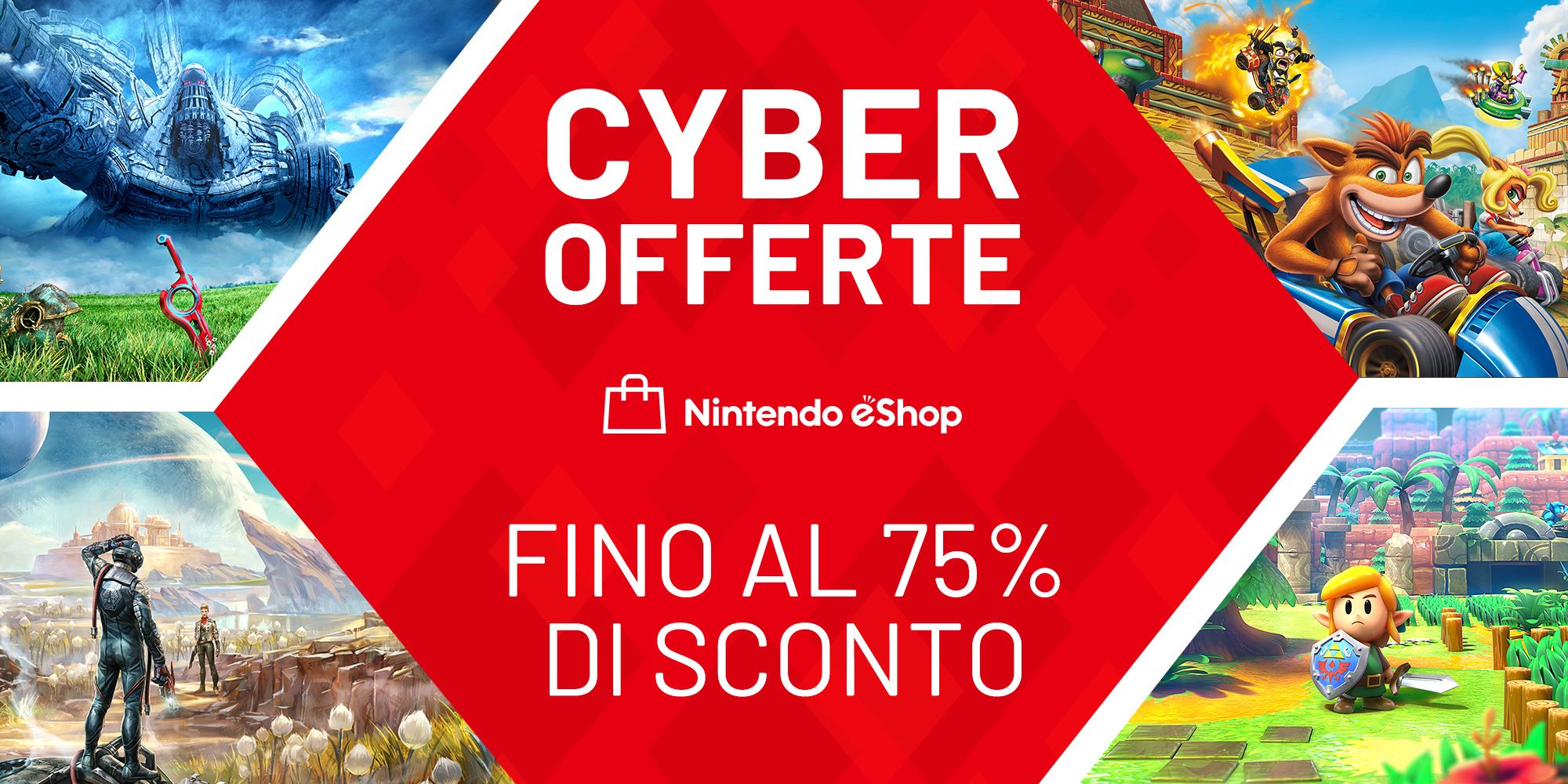 Nintendo eShop, iniziati i saldi del Black Friday con Cyber Offerte: ecco alcuni giochi Switch in offerta