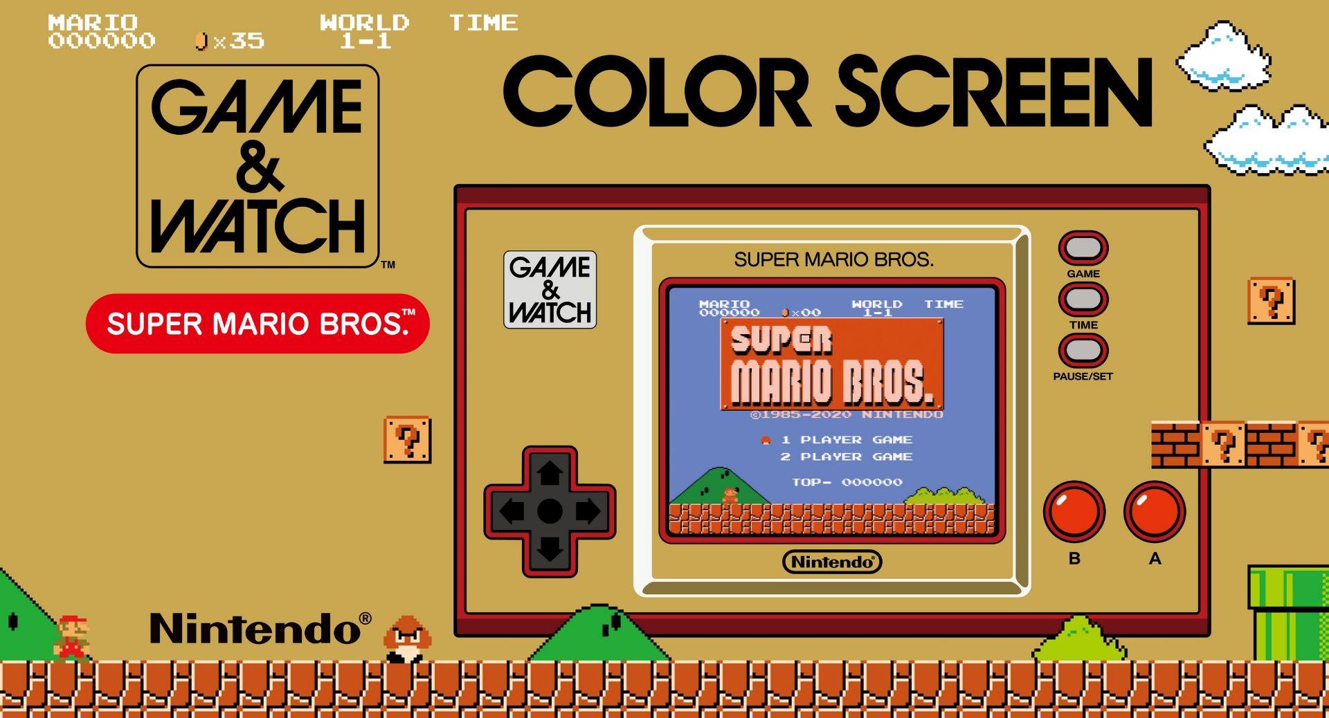 Game & Watch Super Mario Bros, Nintendo condivide alcuni piccoli e interessanti segreti
