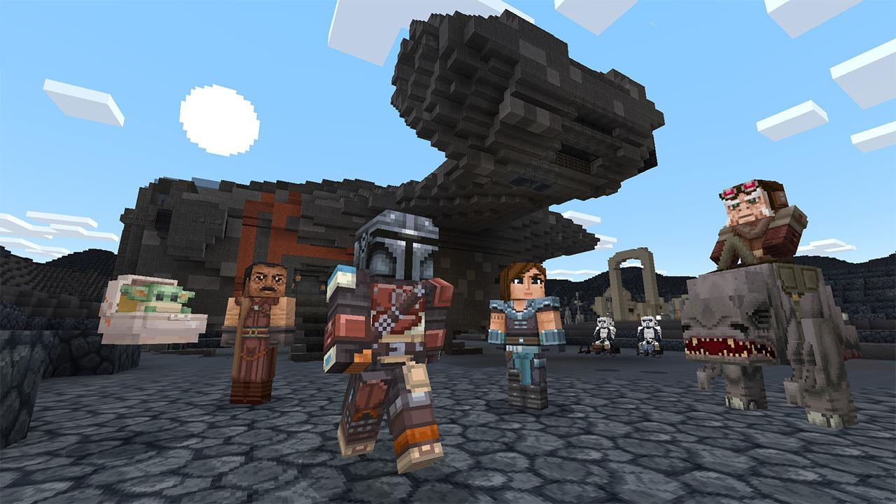 Minecraft, disponibile da oggi il nuovo DLC a tema Star Wars