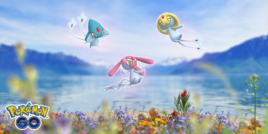Pokémon GO: Uxie, Mesprit e Azelf tornano nei raid e arriva la ricerca mirata di novembre con Nidoran
