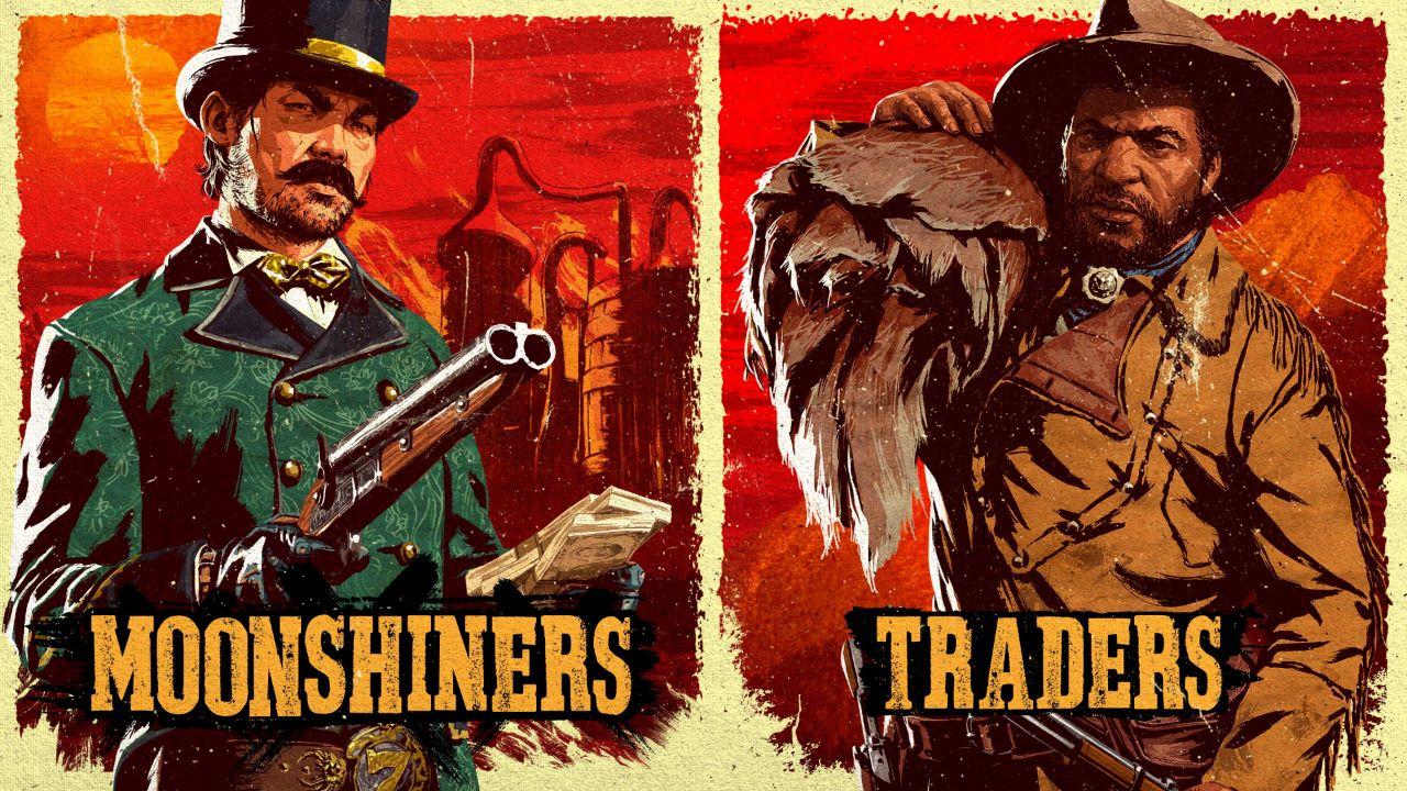 Red Dead Online, tanti bonus per commercianti e distillatori questa settimana
