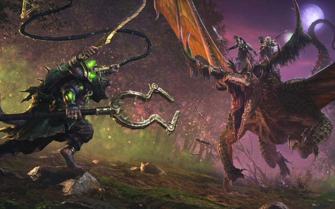 Total War Warhammer 2, l'espansione The Twisted & The Twilight esce il 3 dicembre
