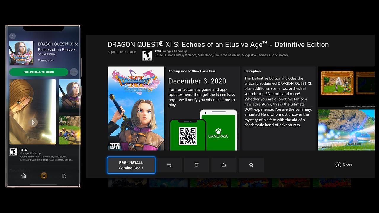Xbox Series e One, nuovi temi dinamici e preload dei giochi di Xbox Game Pass nell'aggiornamento di novembre