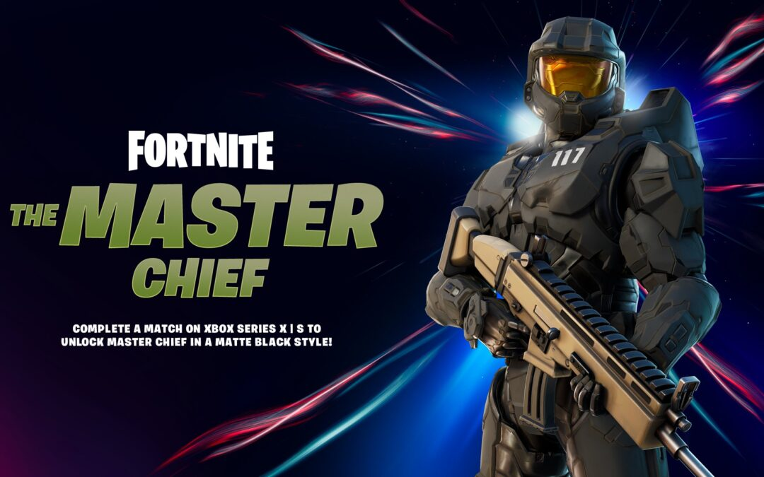 Fortnite, arriva oggi Master Chief di Halo: annunciato un cross-over con The Walking Dead