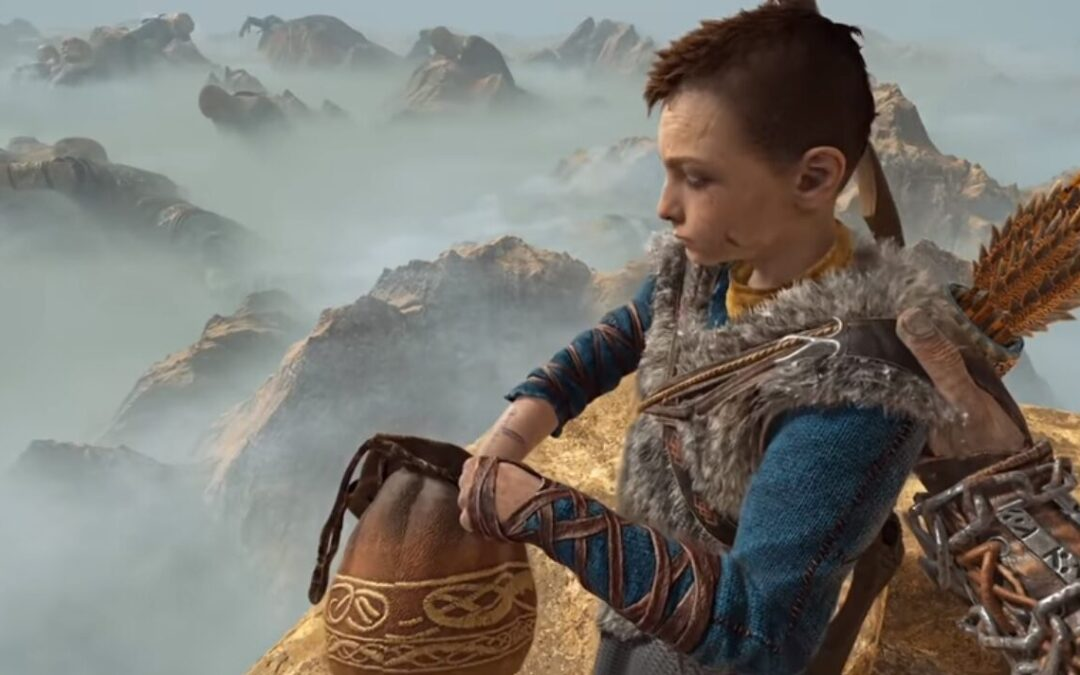 God of War, una mod permette di giocare come Kratos in prima persona
