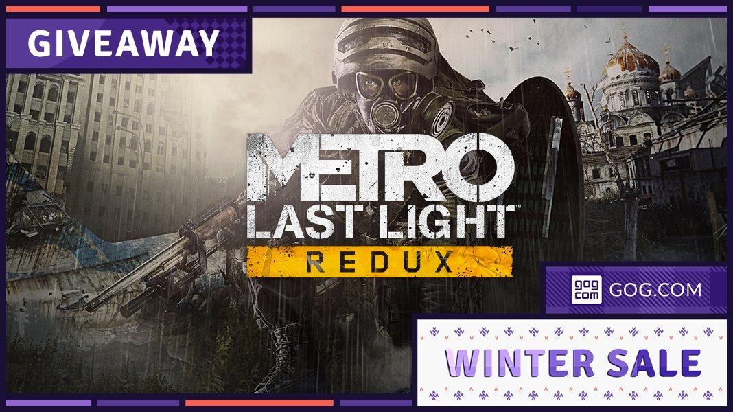 Giochi gratis PC, Metro Last Light Redux è gratuito su GOG per 48 ore