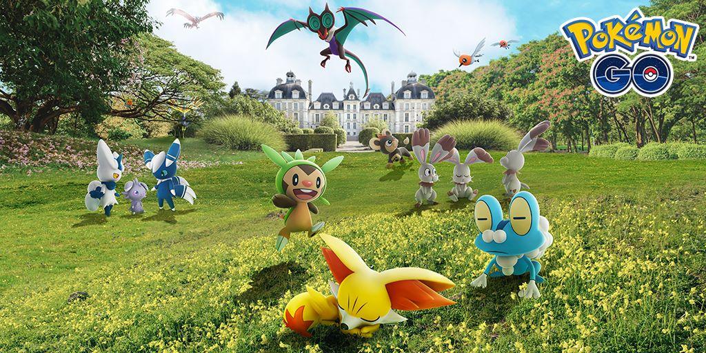 Pokémon GO celebra l'arrivo dei Pokémon della regione di Kalos con un evento speciale