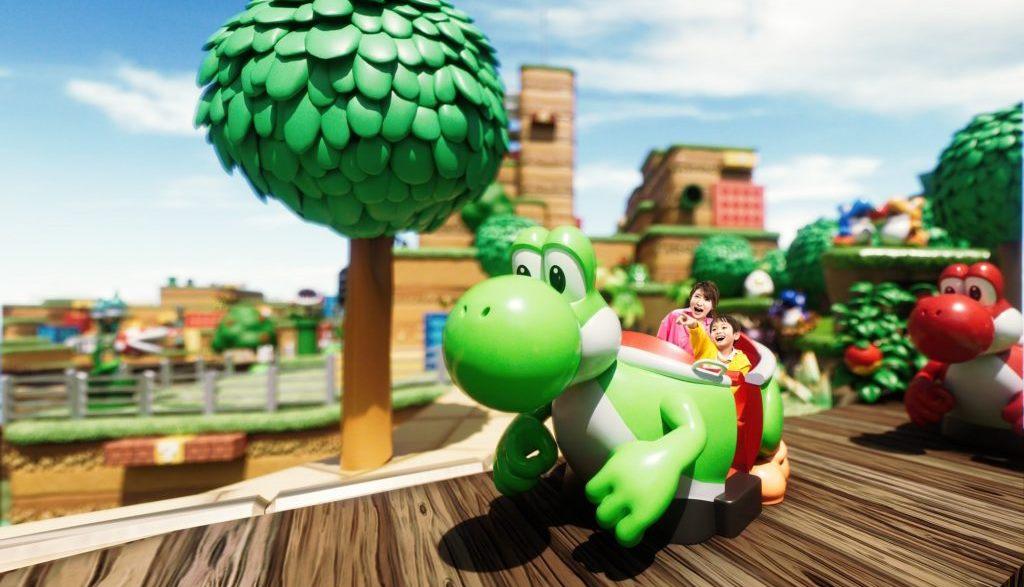 Super Nintendo World, compaiono video dell'attrazione di Yoshi: nuovo spot televisivo