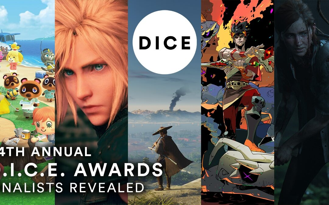 DICE Awards 2021, annunciate le nomination: The Last of Us Parte 2 e Ghost of Tsushima in lizza per il GOTY
